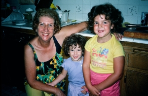 Grandma, THE DIVA and I circle 1984(?)