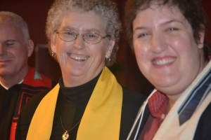 Rev. Karen Rasmussen and I