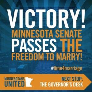 MN senate victory